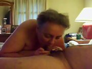 sub/slut sucking neighbors cock