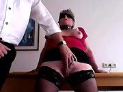 My hot redhead-slave training - lession 1